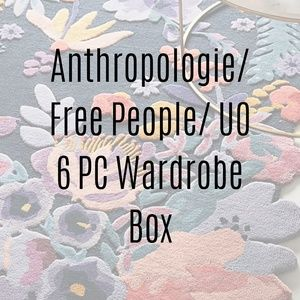 Anthropologie Free People UO Mystery Box